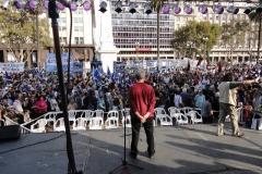 En Plaza de Mayo el 28 de abril de 2011