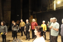 Prueba de sonido en Auditorio Municipal Sala Mayor Antu Ruca