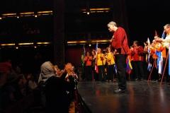 Saludos final en el Teatro Nacional Cervantes